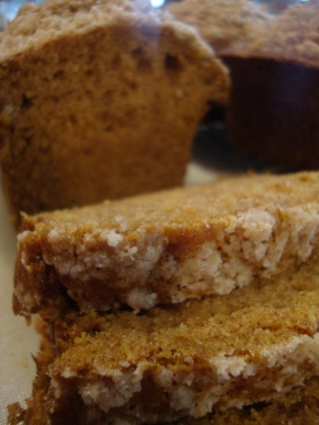 Pumpkin Quick Bread   /  The Wonderfully Ordinary Life of Mrs. H and Her Family