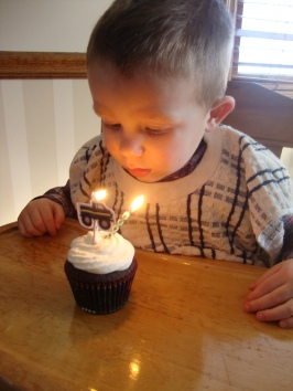Your mission, if you choose to accept, is to blow out two candles